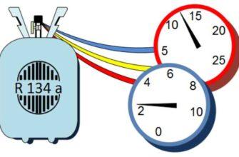 Для определения количества хладона, нужно обратить внимание на величину перегрева газа