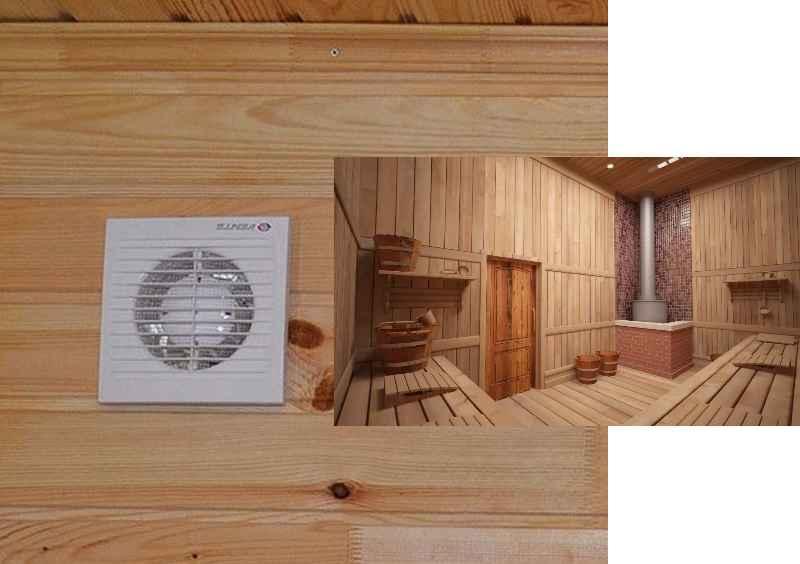 Общие требования к вентиляционной системе в бане